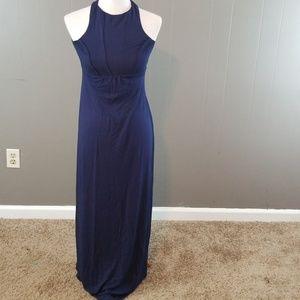 Tart women's navy blue maxi dress size XS